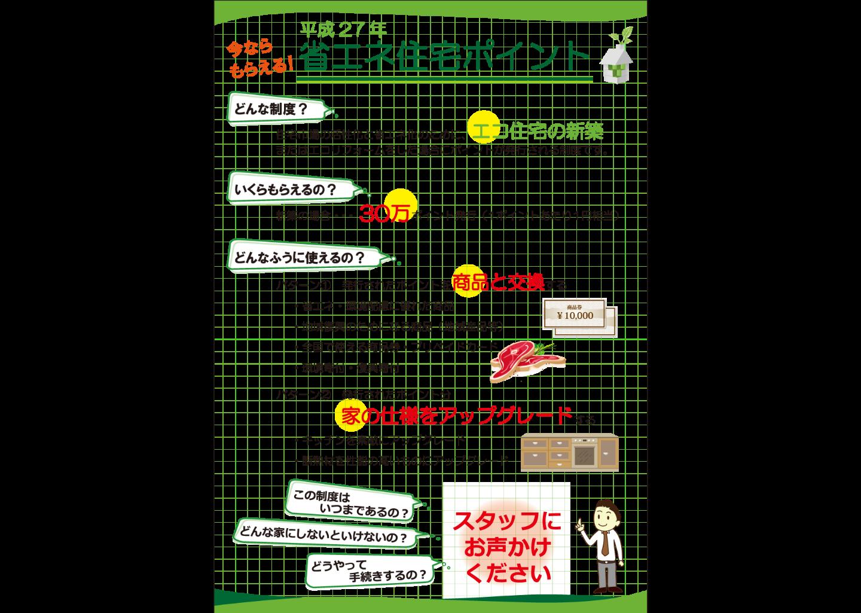 平成27年省エネ住宅ポイント